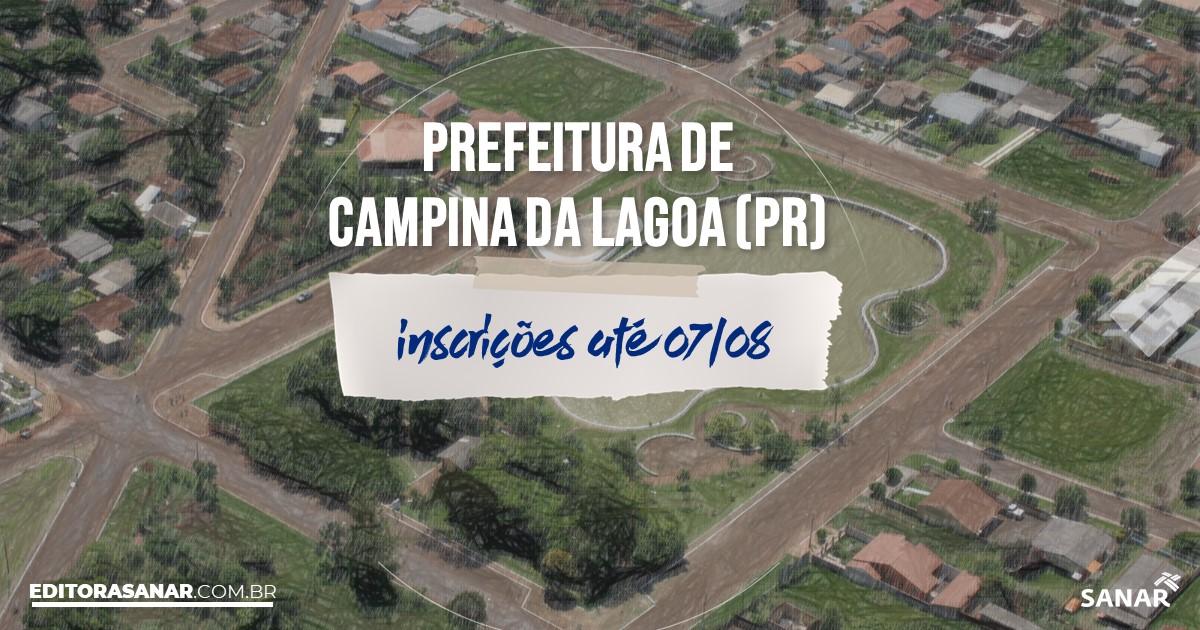 Concurso de Campina da Lagoa - PR: vagas de até R$16 mil na Saúde!