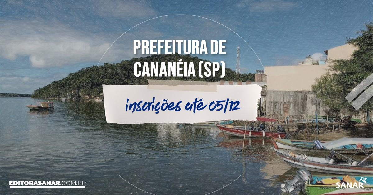 Concurso de Cananéia - SP: vagas imediatas na Saúde!