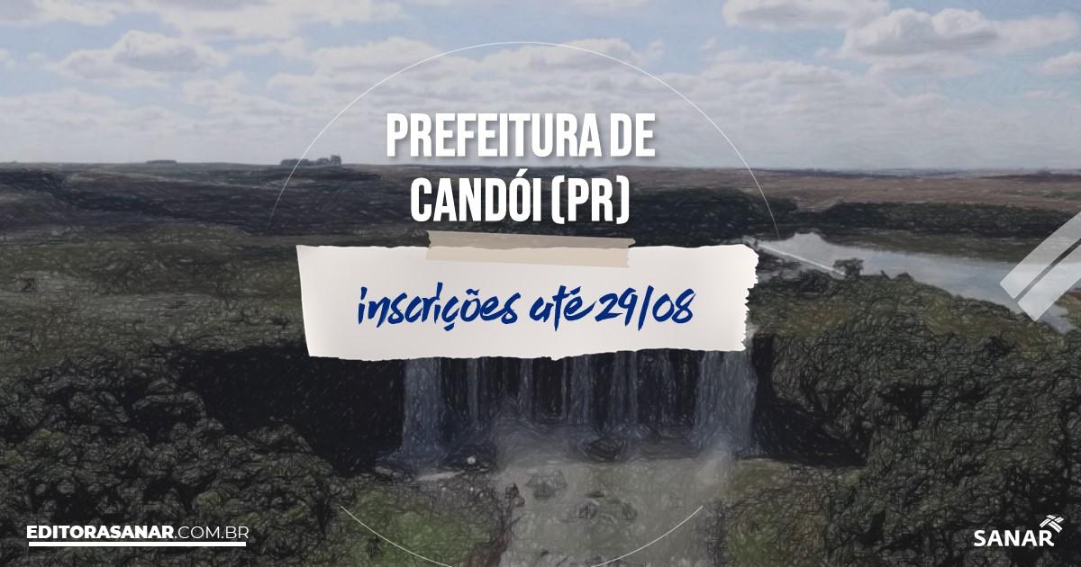 Concurso de Candói - PR: salários na Saúde de até R$16 mil!