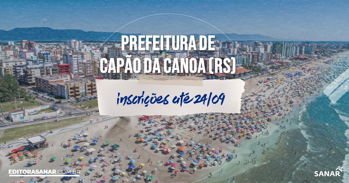 Concurso de Capão da Canoa - RS: vagas na Saúde!
