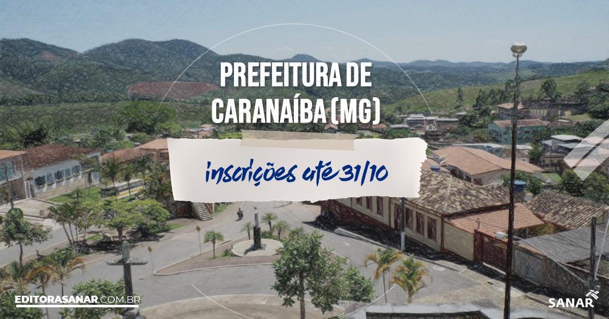 Concurso de Caranaíba - MG: cargos na Saúde de até R$7mil!