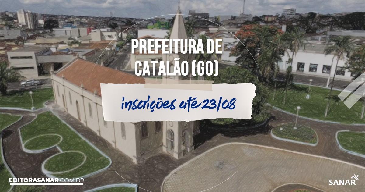 Concurso de Catalão - GO: vagas na Saúde para psicólogos!