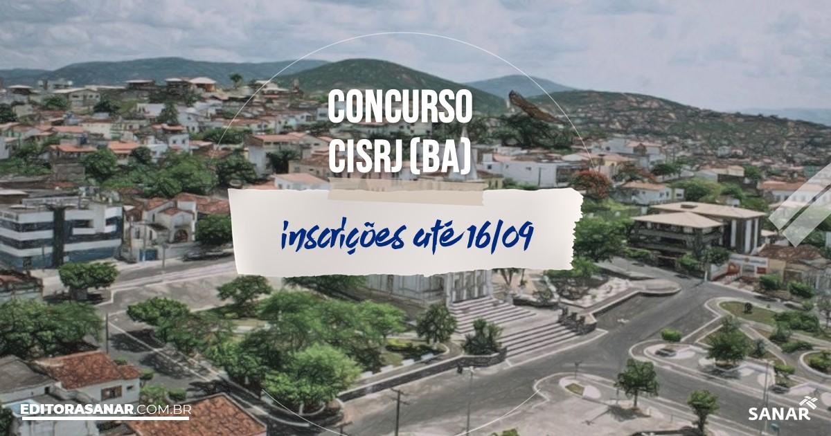 Concurso do CISRJ - BA: vagas na saúde!