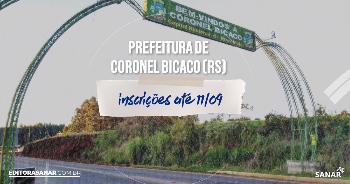 Concurso de Coronel Bicaco - RS: vagas imediatas na Saúde!