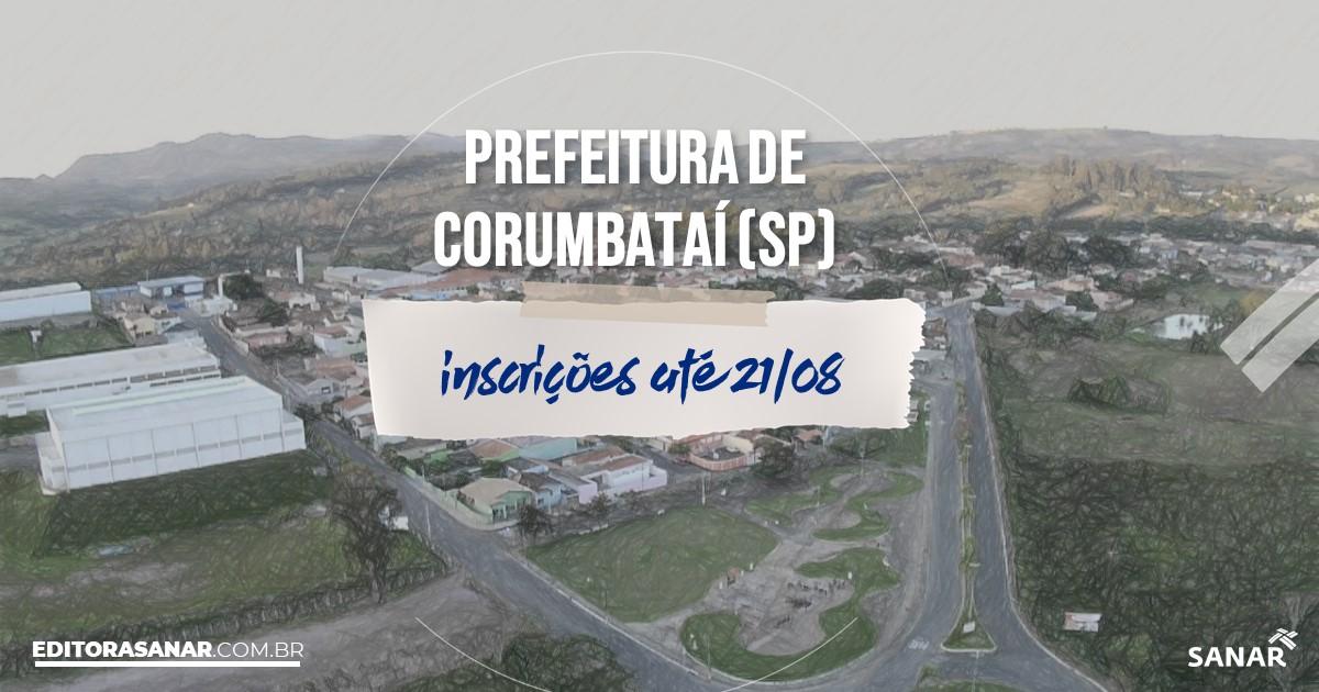 Concurso de Corumbatái - SP: vagas na Saúde!