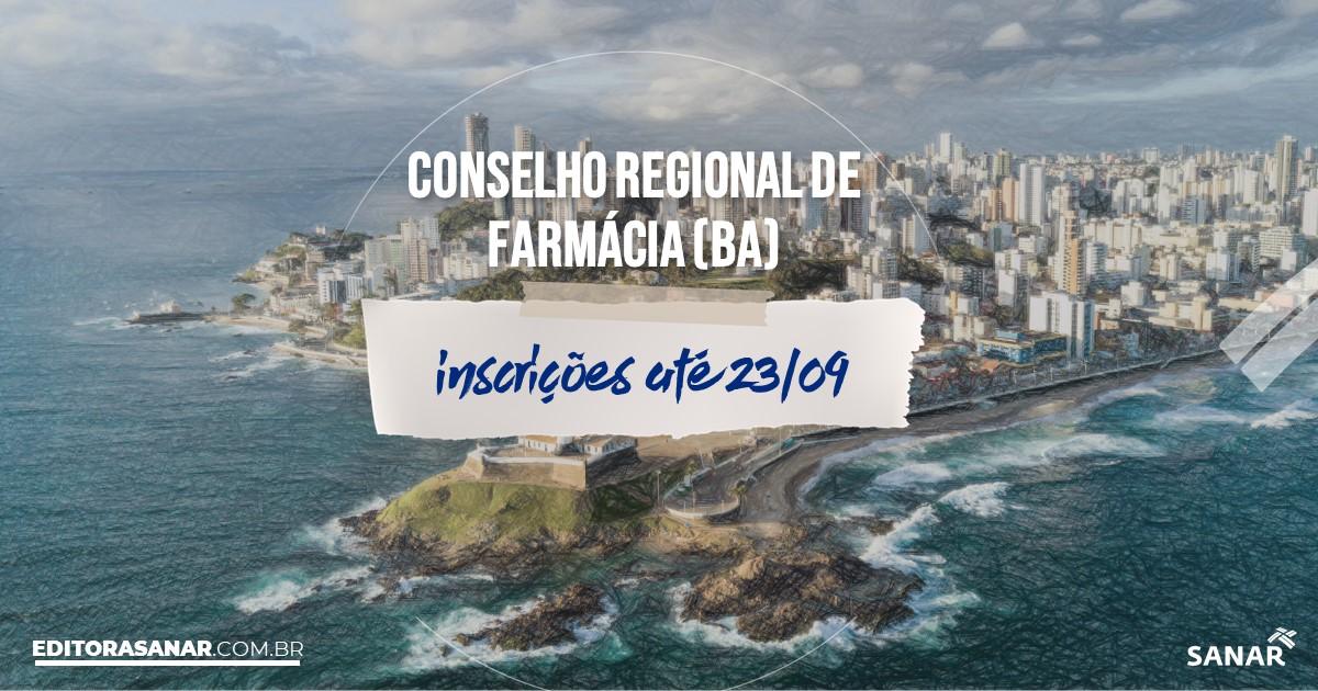 Concurso do CRF - BA: vagas na Saúde para farmacêuticos!