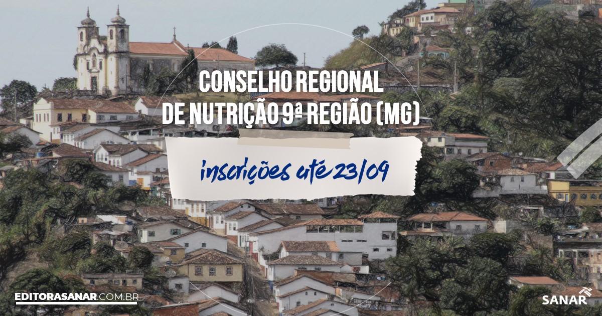 Concurso do CRN9 - MG: vagas na Saúde para nutricionistas!