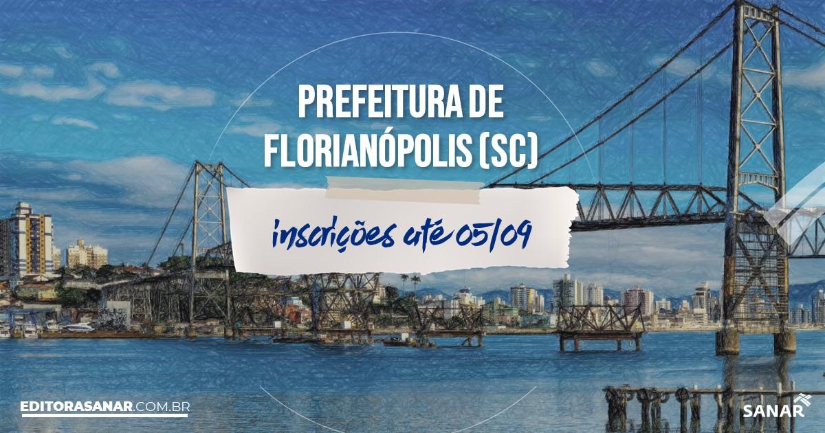 Concurso de Florianópolis - SC: salários de até R$14 mil na Saúde!