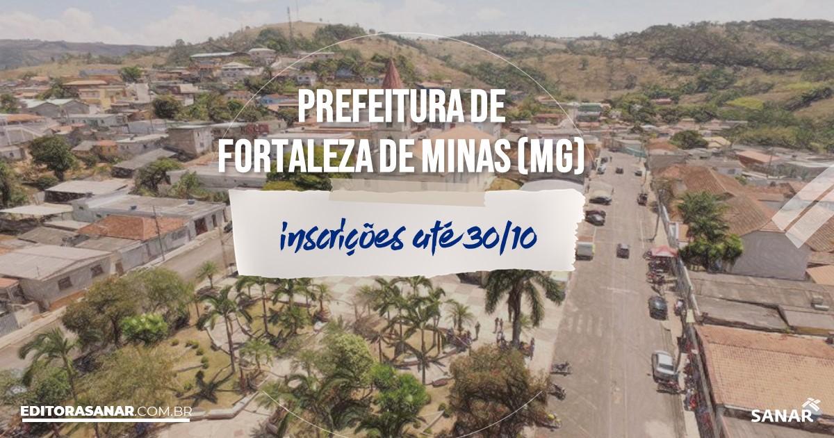 Concurso de Fortaleza de Minas - MG: vagas de até R$9 mil na Saúde!