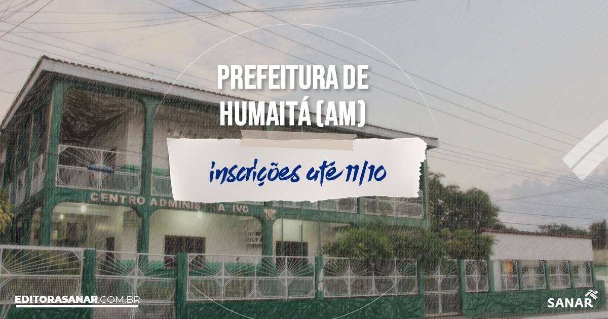 Concurso de Humaitá - AM: salários de até R$ 12 mil na Saúde!