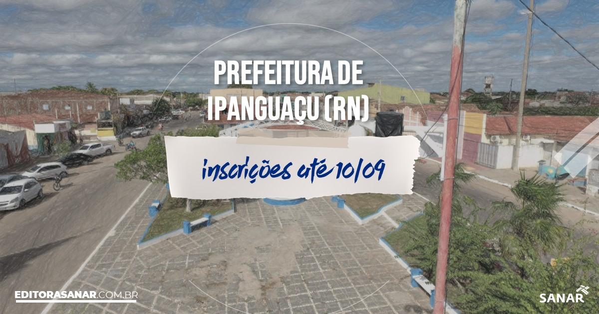Concurso de Ipanguaçu - RN: vagas imediatas na Saúde!