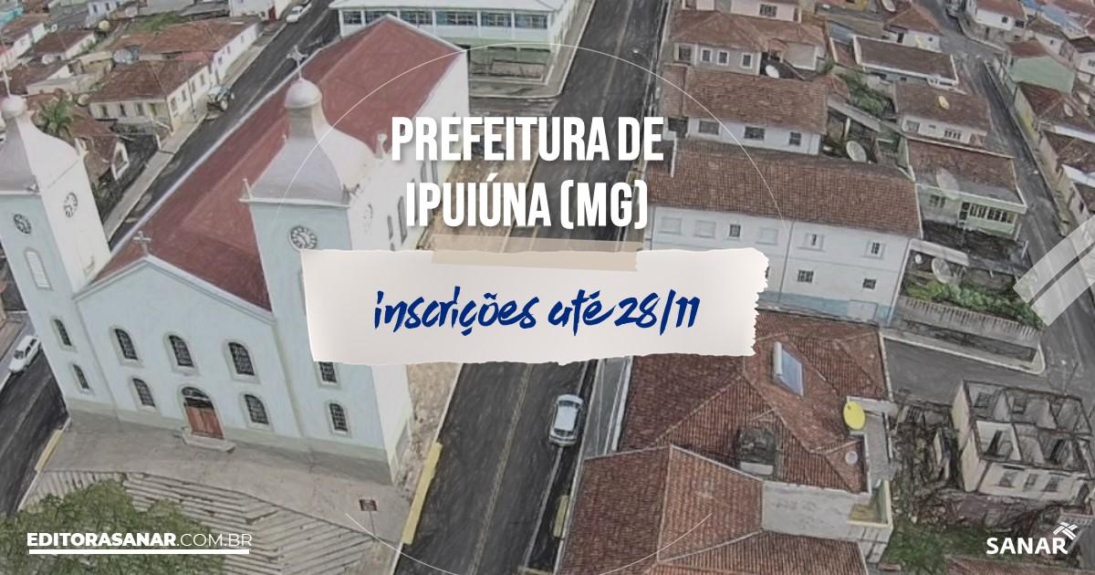 Concurso de Ipuiuna - MG: salários na Saúde de até R$10 mil!