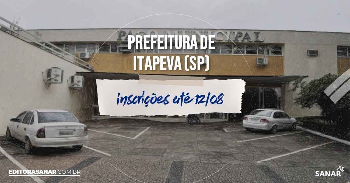 Concurso de Itapeva - SP: vagas imediatas na Saúde!
