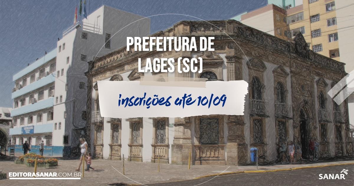 Concurso de Lages - SC: salários na Saúde de até R$14 mil!