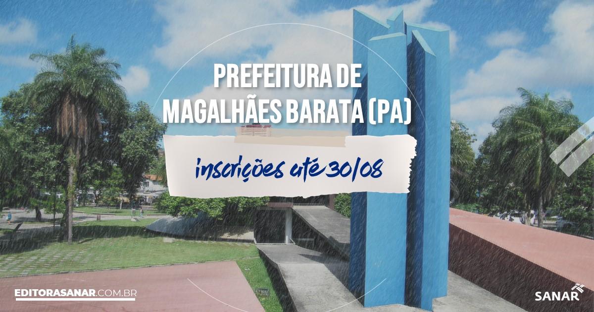 Concurso de Magalhães Barata - PA: vagas imediatas na Saúde!