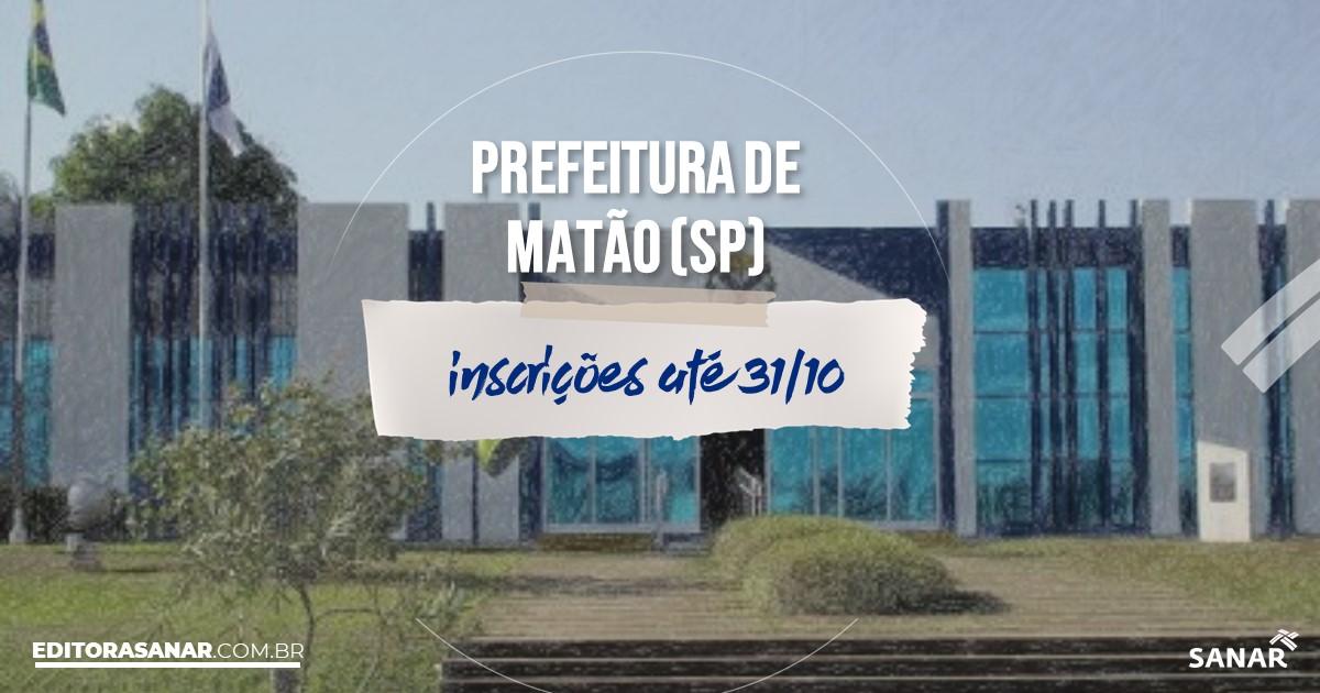 Concurso de Matão - SP: vagas na Saúde!
