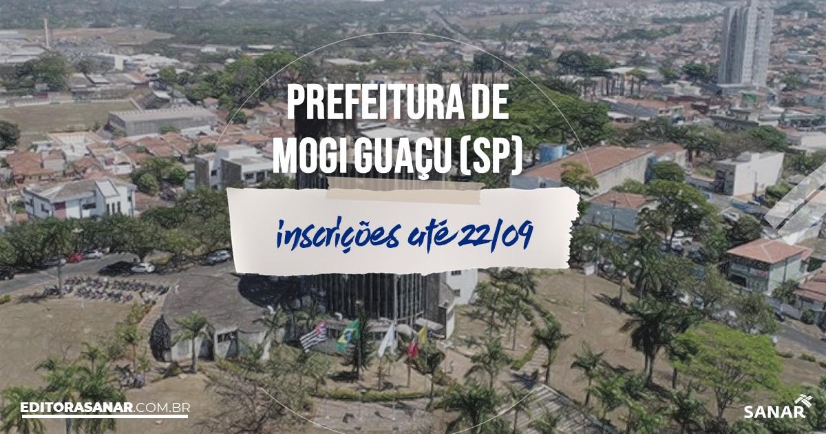 Concurso de Mogi Guaçu - SP: vagas na Saúde!
