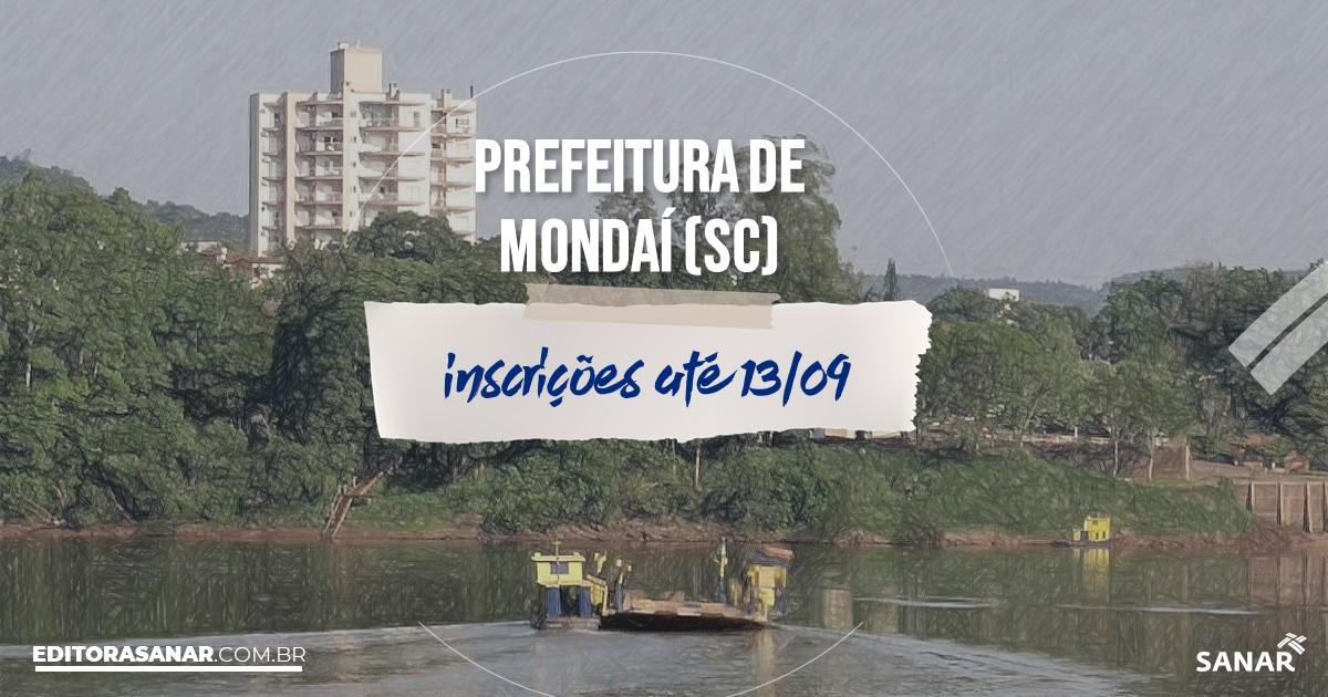 Concurso de Mondaí - SC: vagas na Saúde!