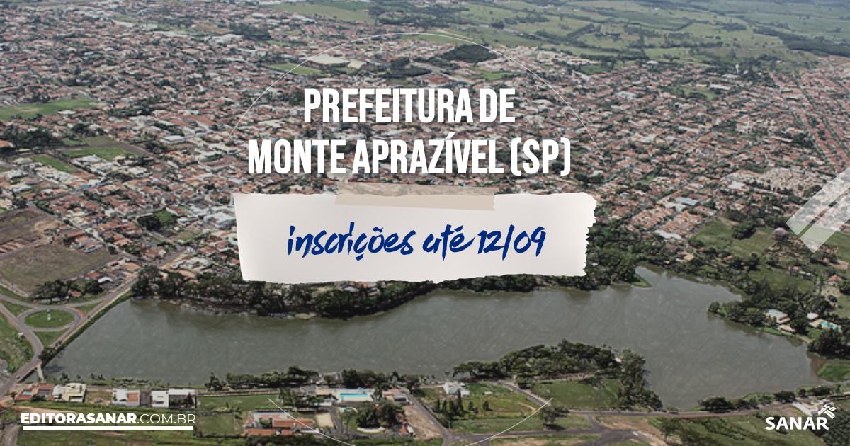Concurso de Monte Aprazível - SP: vagas na Saúde!