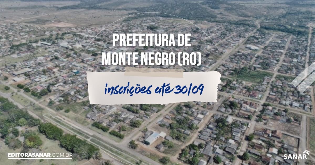 Concurso de Monte Negro - RO: vagas imediatas na Saúde!
