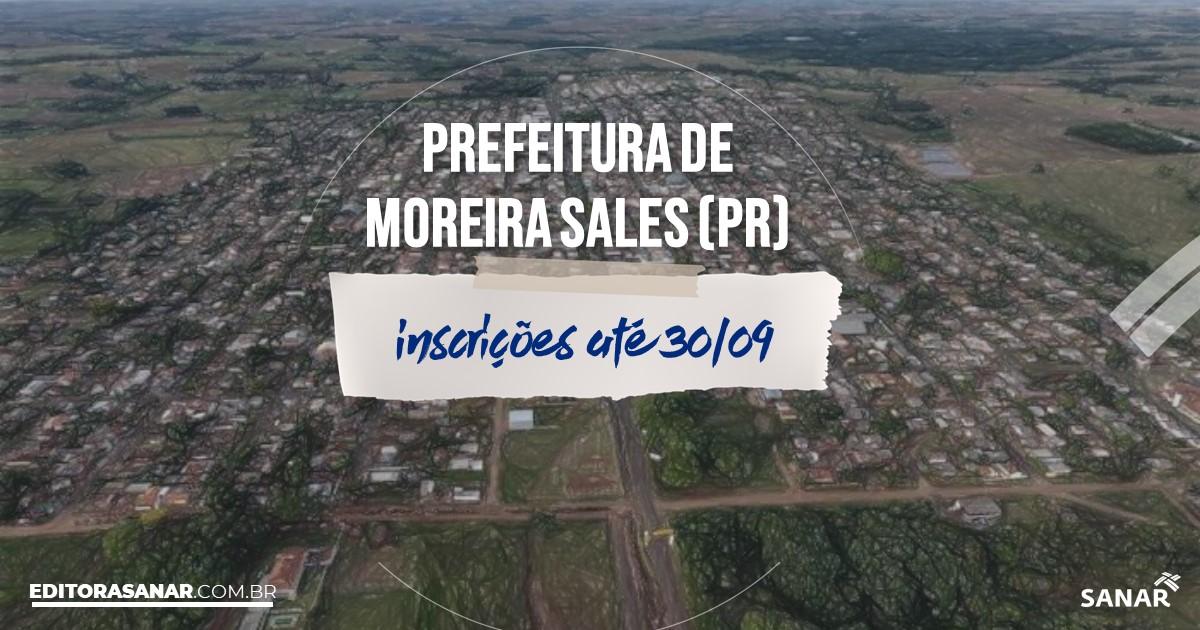 Concurso de Moreira Sales - PR: vagas imediatas na Saúde!