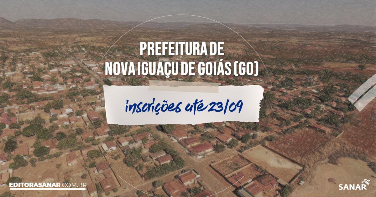 Concurso de Nova Iguaçu de Goiás - GO: vagas na Saúde!