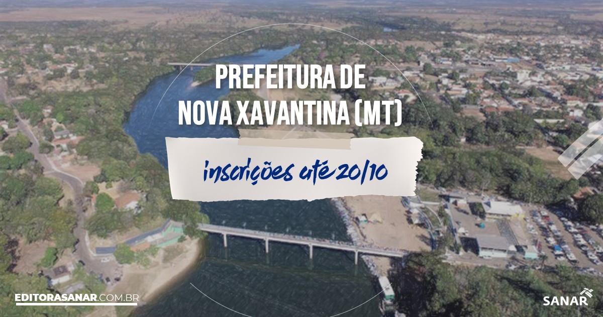 Concurso de Nova Xavantina - MT: salários até R$13 mil na Saúde!