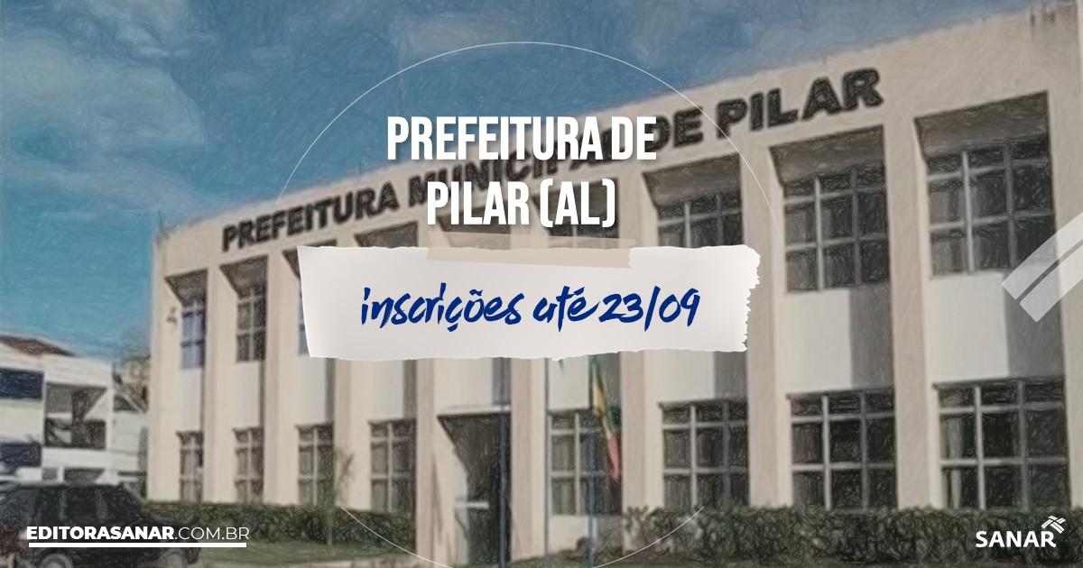 Concurso de Pilar - AL: vagas na Saúde!