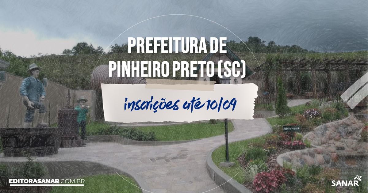 Concurso de Pinheiro Preto - SC: salários de até R$8 mil na Saúde!