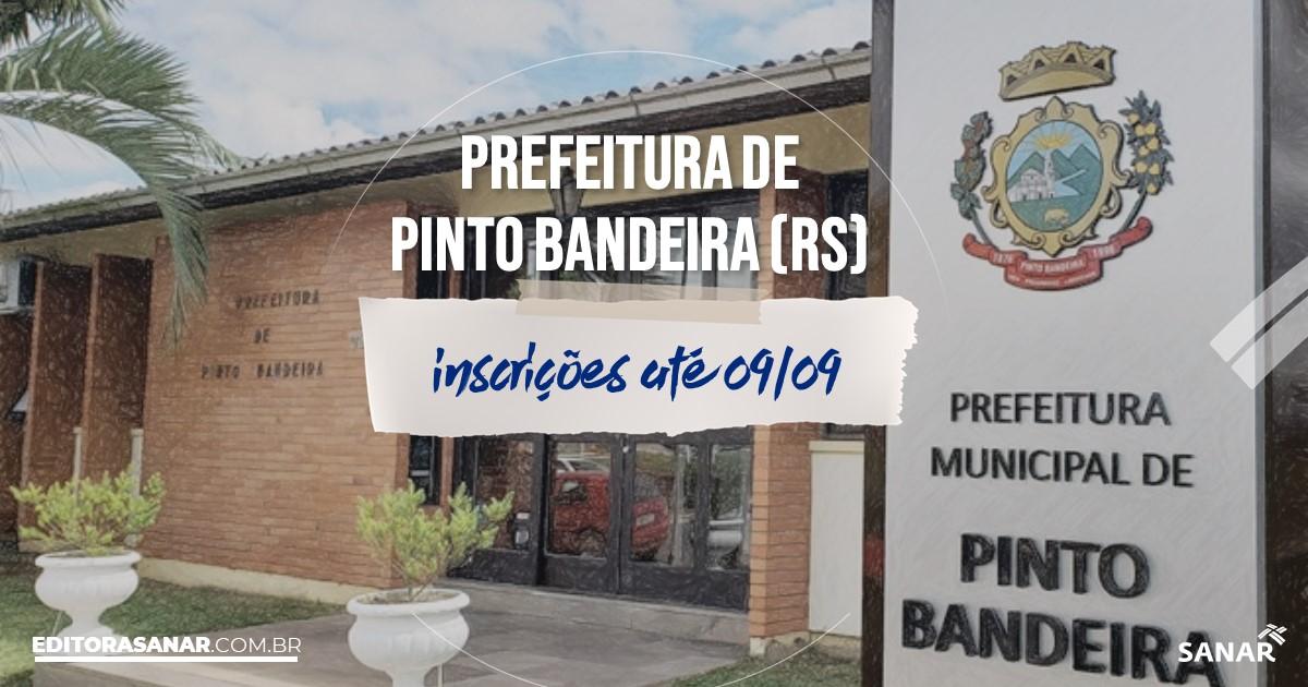 Concurso de Pinto Bandeira - RS: vagas de até R$7 mil na Saúde!