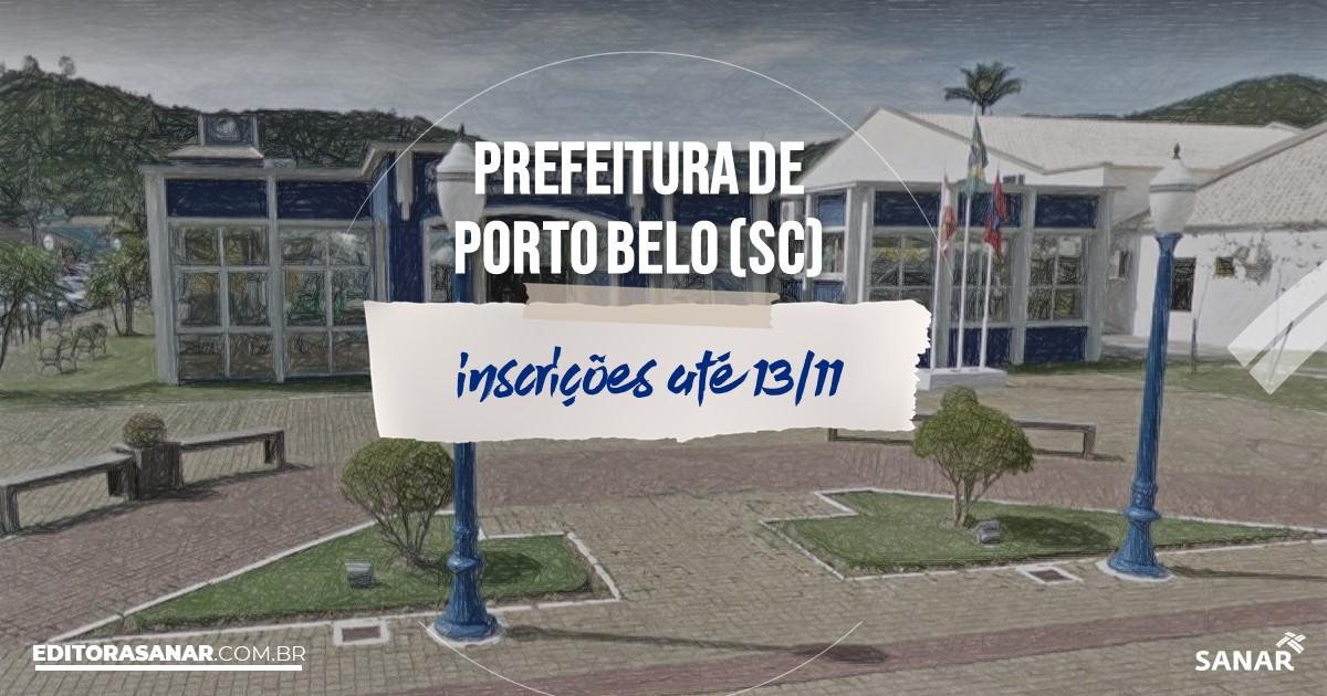 Concurso de Porto Belo - SC: vagas imediatas na Saúde!
