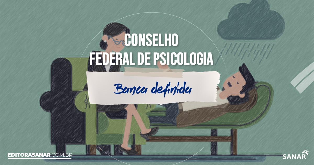 Concurso previsto do Conselho Federal de Psicologia