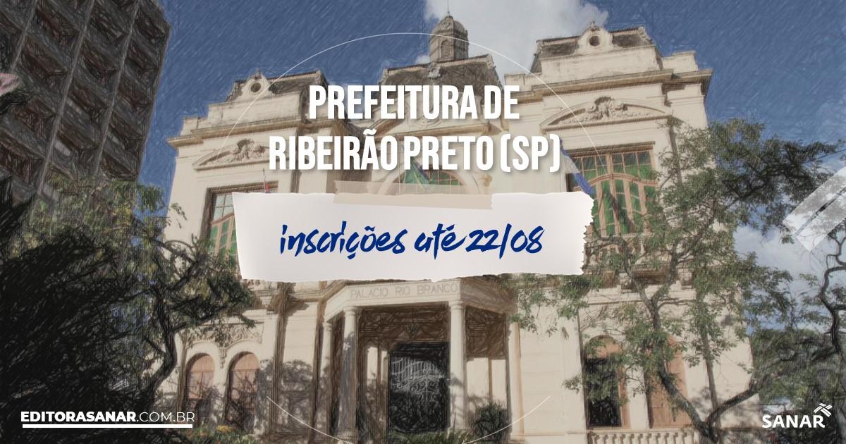 Concurso de Ribeirão Preto - SP: vaga na Saúde para médico!