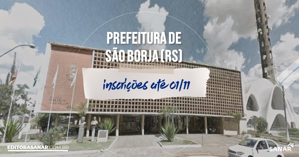 Concurso de São Borja - RS: salários na Saúde até R$12 mil!