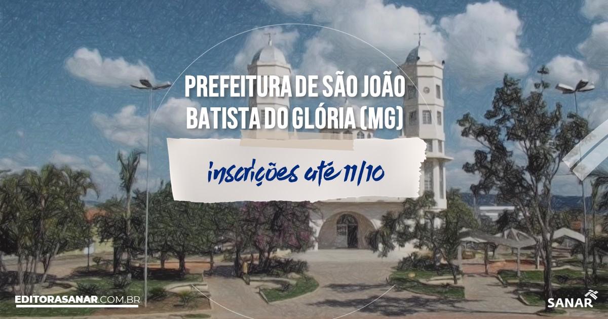 Concurso de São João Batista do Glória - MG: salário de até R$10 mil na área de Saúde!