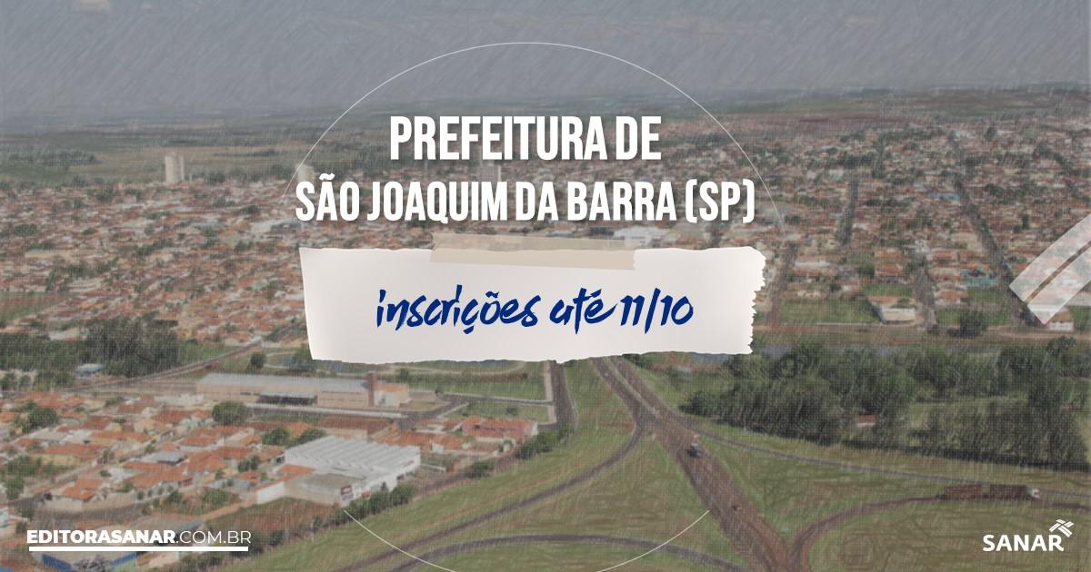 Concurso de São Joaquim da Barra - SP: salários até R$13 mil na Saúde!