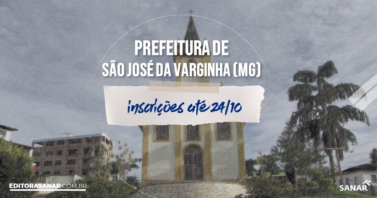 Concurso de São José da Varginha - MG: cargos na Saúde!