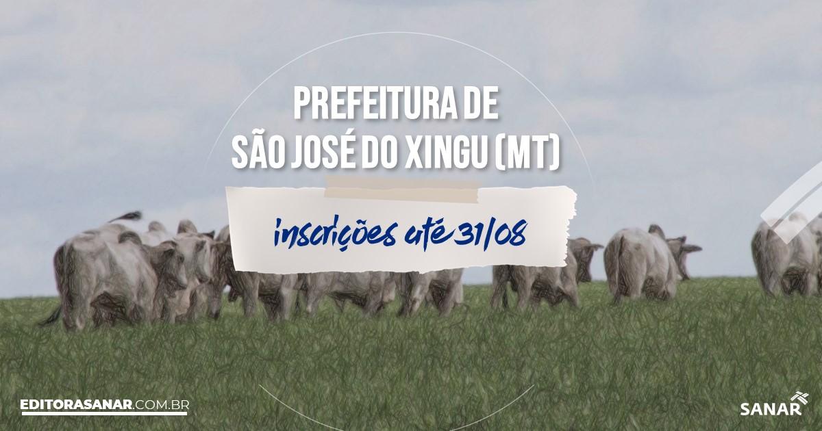 Concurso de São José do Xingu - MT: vagas na Saúde de até R$8 mil!