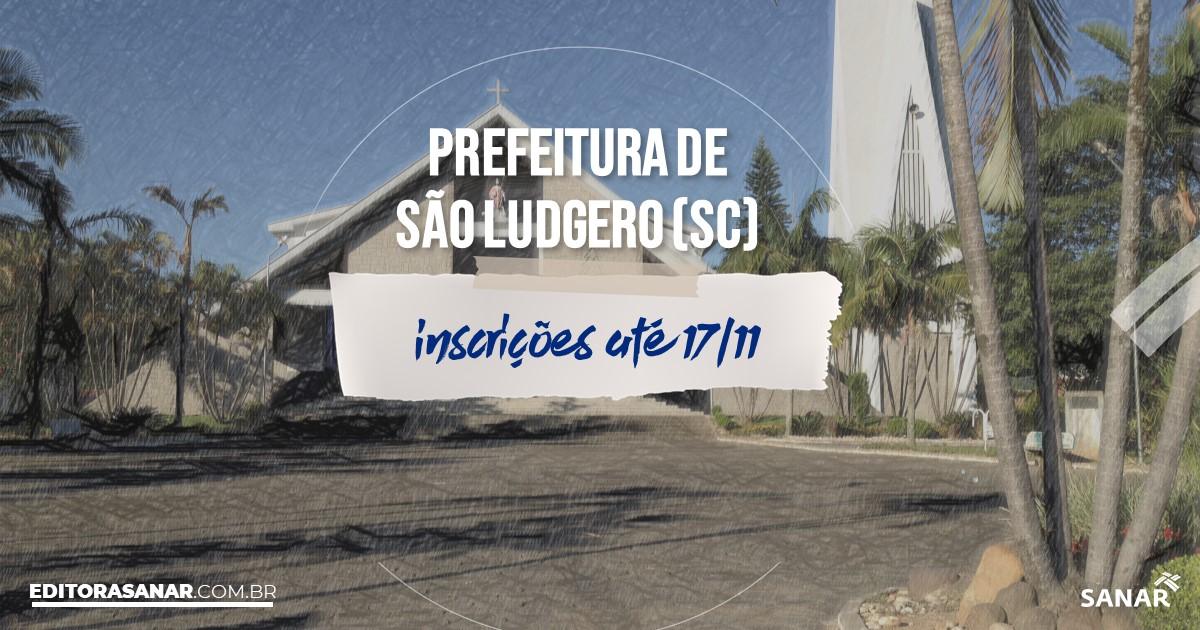 Concurso de São Ludgero - SC: cargos na Saúde!