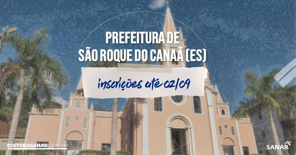 Concurso de São Roque do Canaã - ES: vagas imediatas na Saúde!