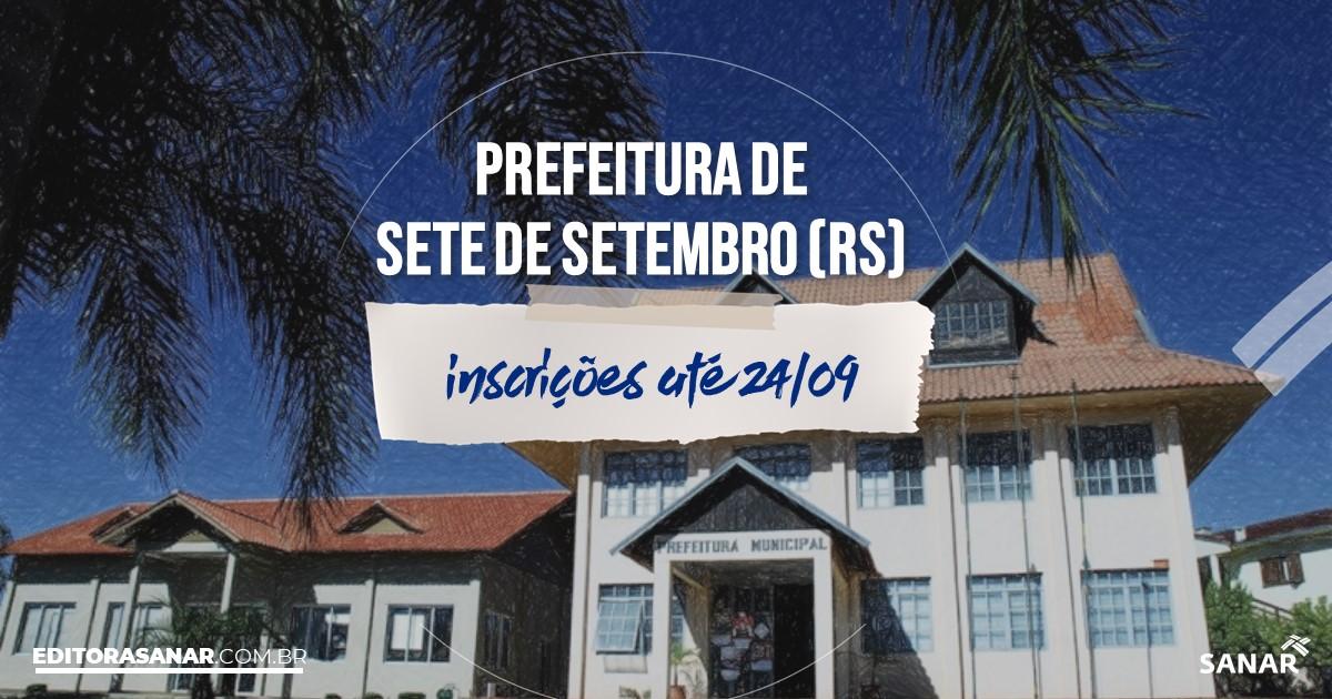Concurso de Sete de Setembro - RS: salários na Saúde de até R$18 mil!