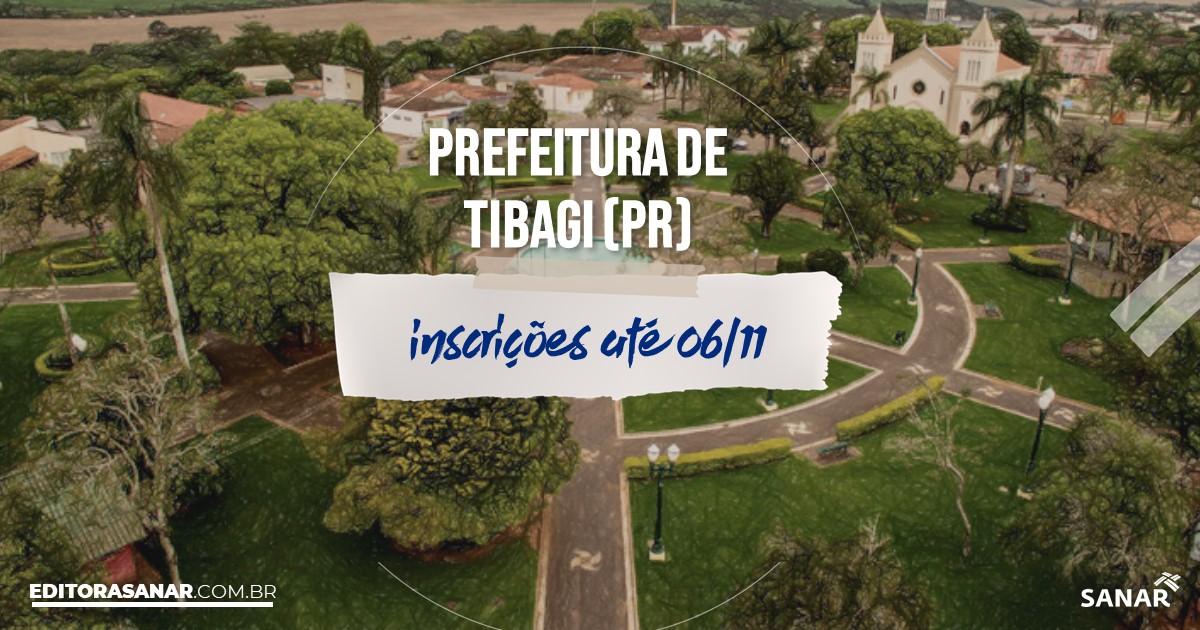 Concurso de Tibagi - PR: salários na Saúde até R$9 mil!