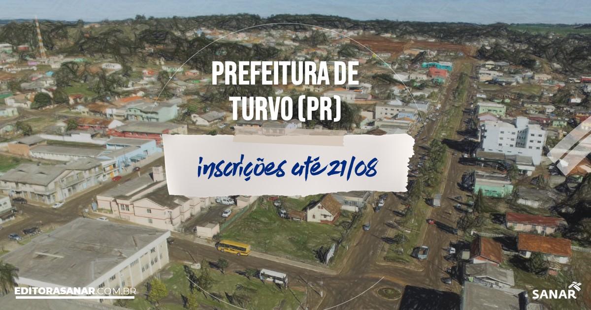Concurso de Turvo - PR: salários na Saúde de até R$13 mil!