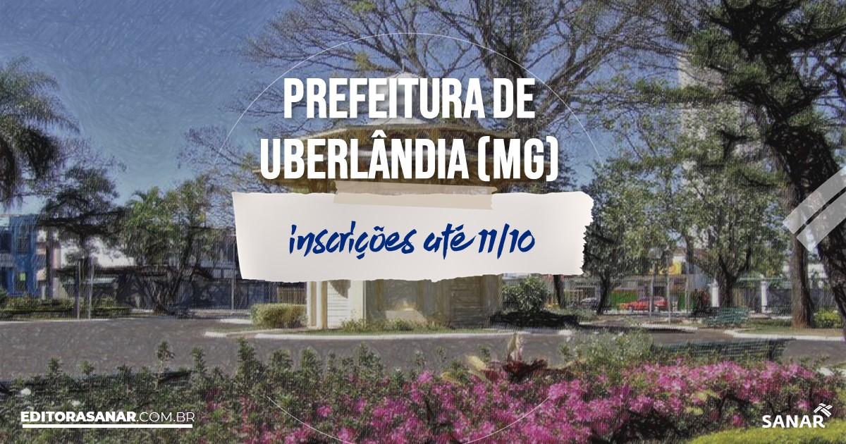 Concurso de Uberlândia - MG: 16 vagas na área de Saúde!
