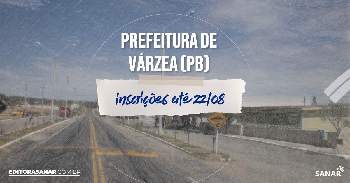 Concurso de Várzea - PB: vagas de até R$10 mil na Saúde!