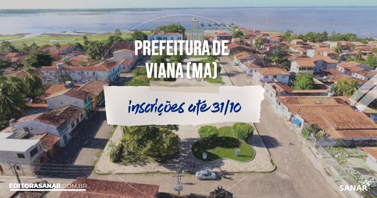 Concurso de Viana - MA: vagas imediatas na Saúde!