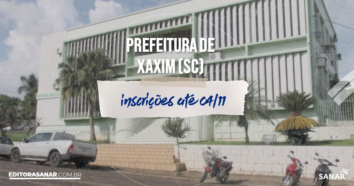 Concurso de Xaxim - SC: salários de até R$6 mil na Saúde!