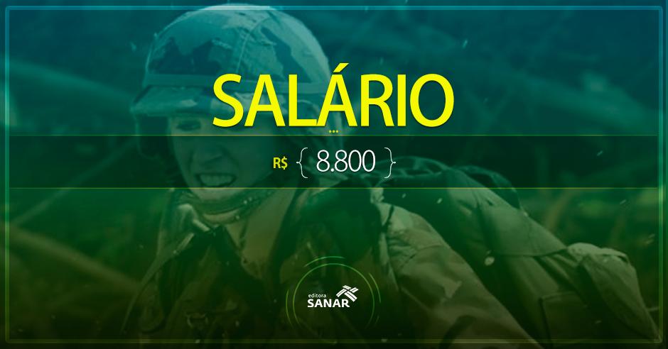 Exército abre concurso com 6 vagas para Enfermeiros e Veterinários com salário inicial de R$ 8.800 + Benefícios