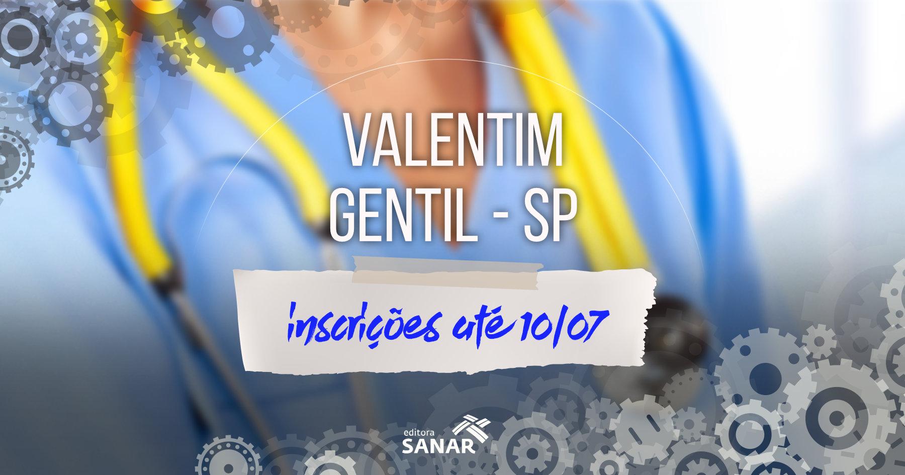 Seleção:  Valentim Gentil (SP) contrata enfermeiros