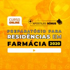 Preparatório Online para Residências em Farmácia 2020 (Com Apostilas Bônus)